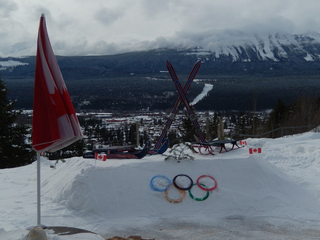 My Olympic Tribute Golden, British Columbia Canada