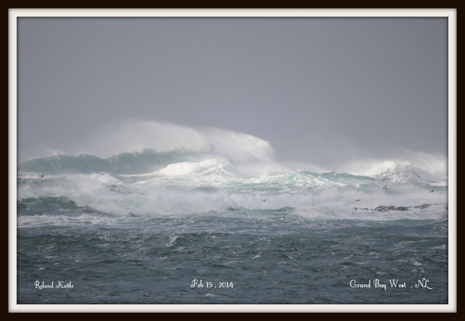 Sea this Morning Channel-Port aux Basques, Newfoundland and Labrador Canada