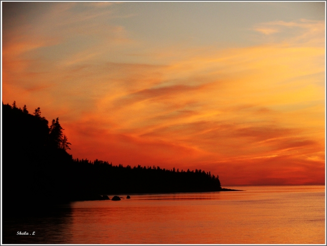 Dreaming Of A Summer Bay of Fundy Sunset Canning, Nova Scotia Canada