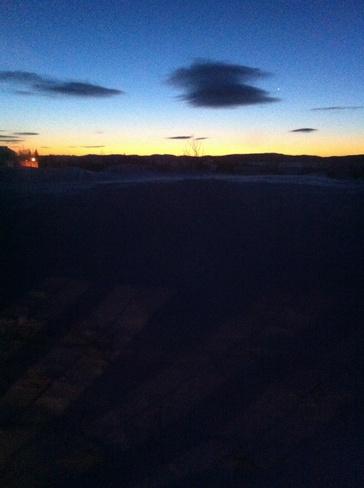 Sunrise over Badger Bay Triton, Newfoundland and Labrador Canada