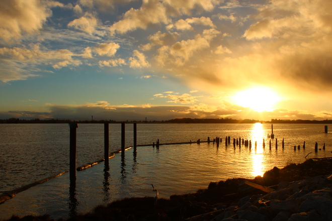 Gorgeous Sunset Richmond, British Columbia Canada