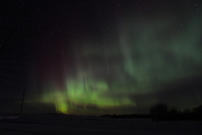Northern Lights Basswood, Manitoba Canada