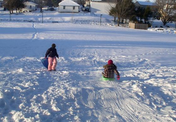 snow days fun