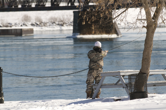 Fishing…yeah…Spring is just around the Corner Fort Erie, Ontario Canada