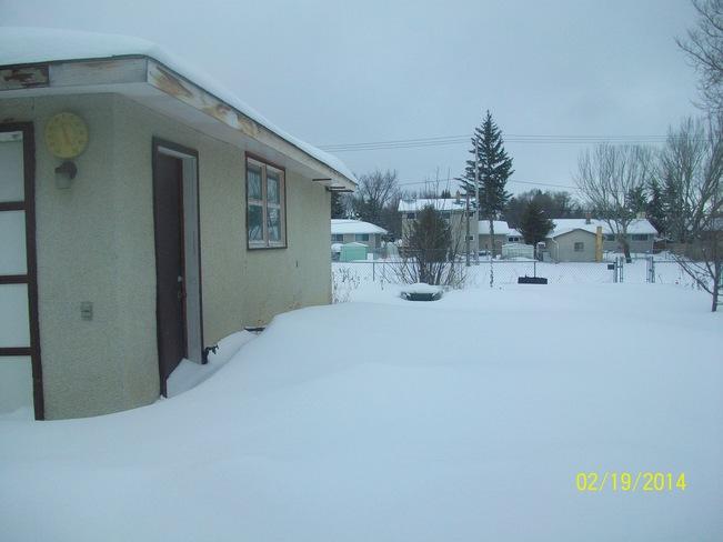 Snow Regina, Saskatchewan Canada