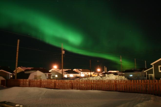 Northern Lights Happy Valley-Goose Bay, Newfoundland and Labrador Canada