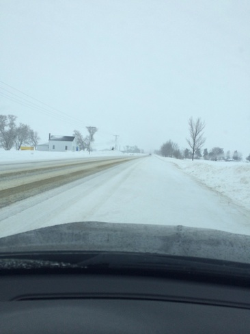 Sleet in Thedford Thedford, Ontario Canada