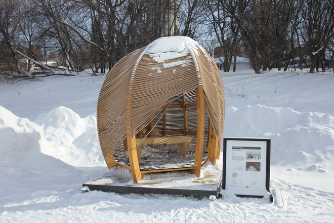 Rope Hut on the Assiniboine Winnipeg, Manitoba Canada