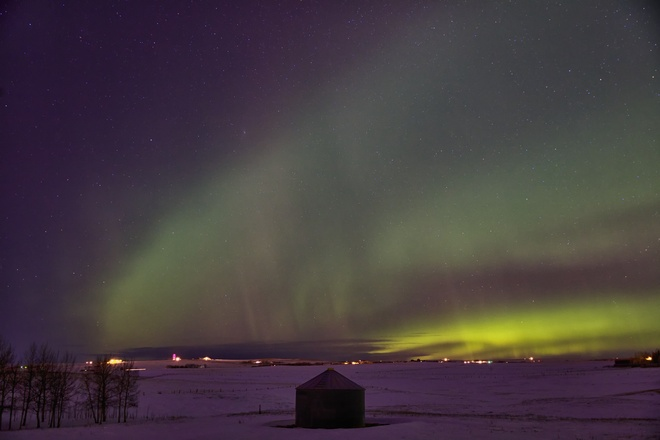 Airdrie Northern light Airdrie, Alberta Canada