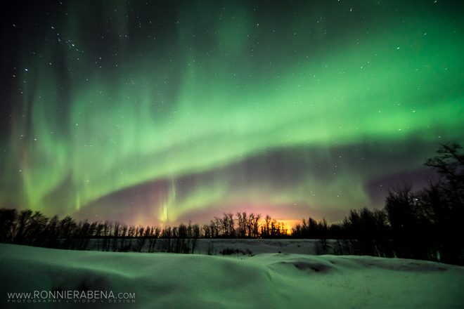 Northern Lights - Clive, AB Clive, Alberta Canada