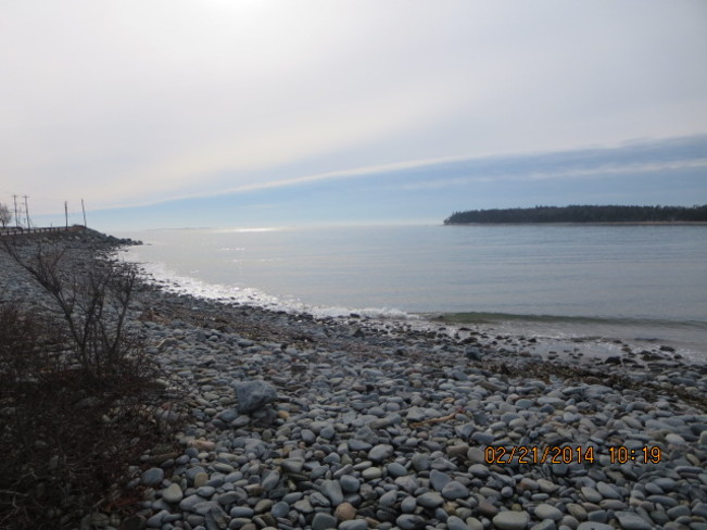 visit to the beach Eastern Passage, Nova Scotia Canada