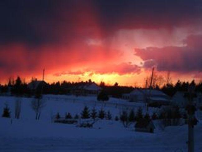 paysage Saint-Prosper-de-Dorchester, Quebec Canada
