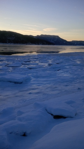 A frosty morning! Woody Point, Newfoundland and Labrador Canada