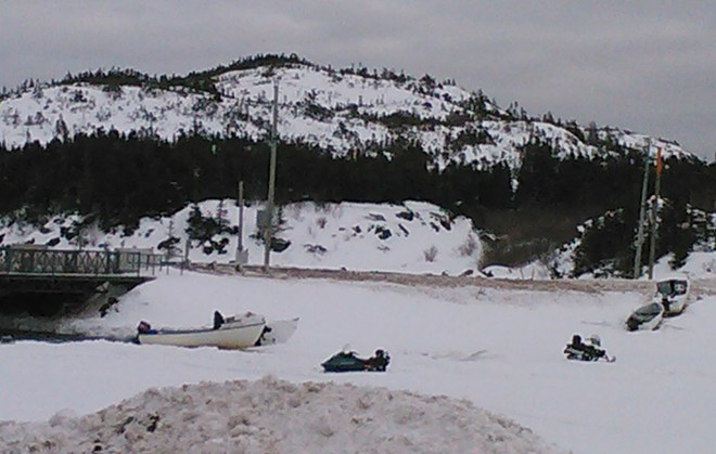 Skidoo's on Ice!!! Brighton, Newfoundland and Labrador Canada