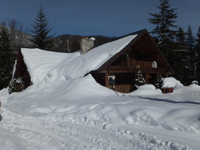 Log House Revelstoke, British Columbia Canada