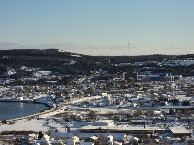 Carbonear South taken from the Lookout Carbonear, Newfoundland and Labrador Canada