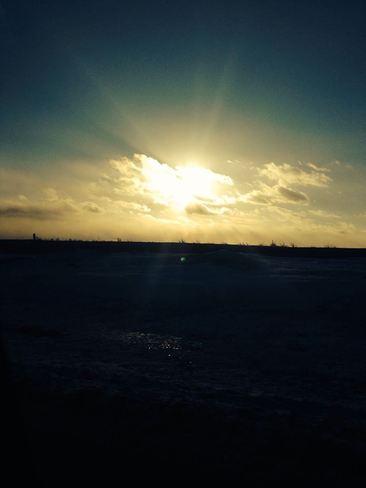 Sunset Calgary, Alberta Canada