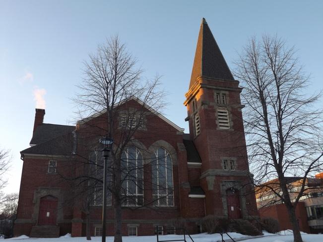Wolfville United Baptist church Wolfville, Nova Scotia Canada