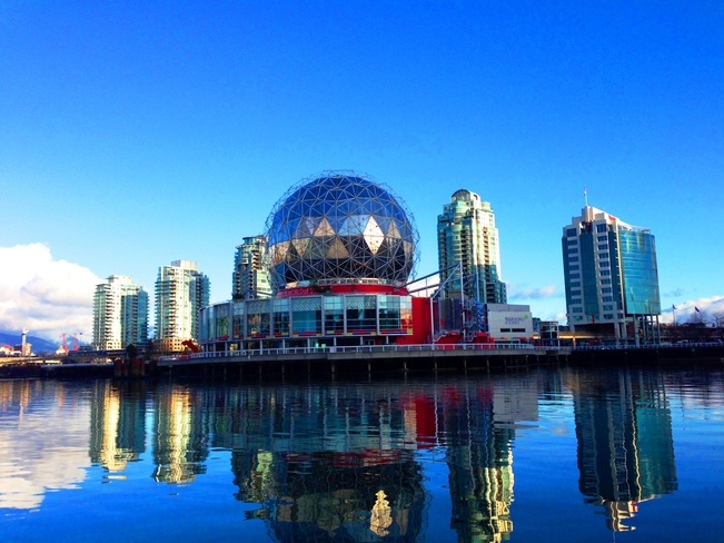 Famous Science World Vancouver, British Columbia Canada