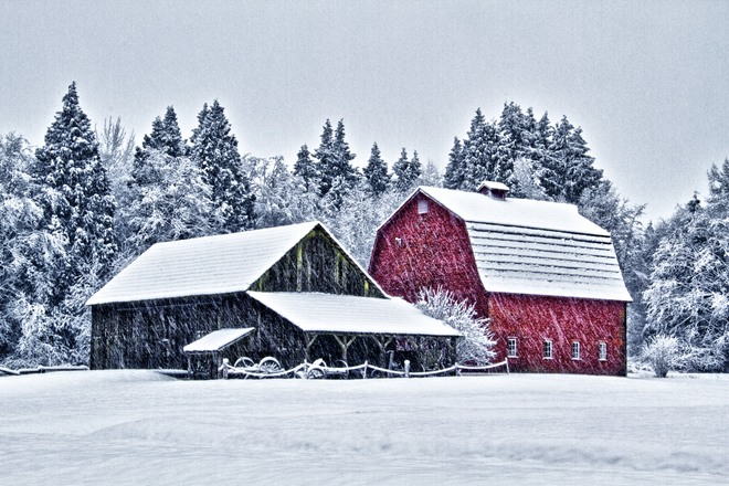 Red Barn Langley, British Columbia Canada