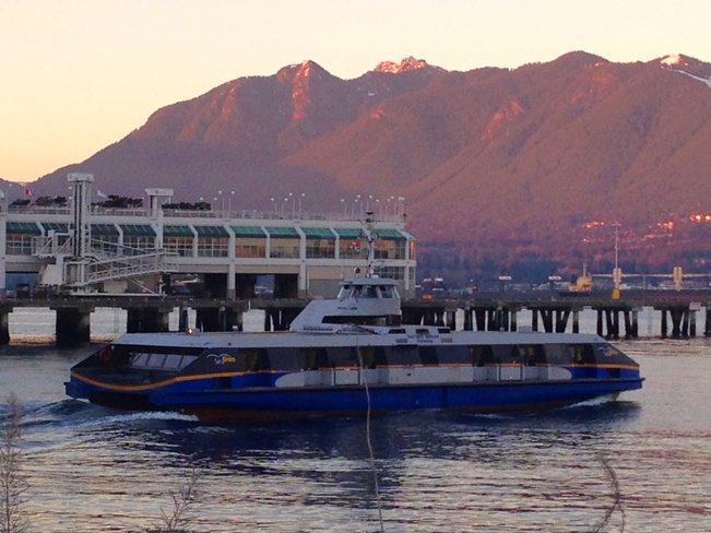 Seabus in Vancouver Vancouver, British Columbia Canada