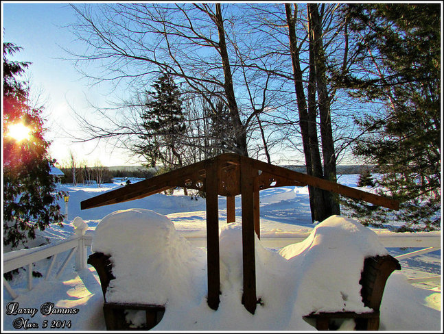 """Another Beautiful Cold Morning"" Springdale, Newfoundland and Labrador Canada"