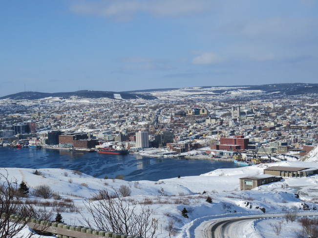 Overlooking St. John's Harbour St. John's, Newfoundland and Labrador Canada