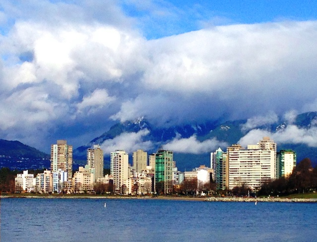 Residing clouds Vancouver, British Columbia Canada