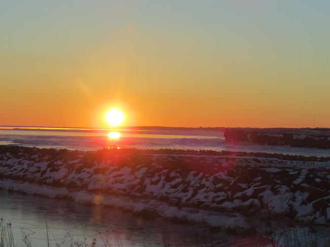 Sunrise over Glace Bay Glace Bay, Nova Scotia Canada