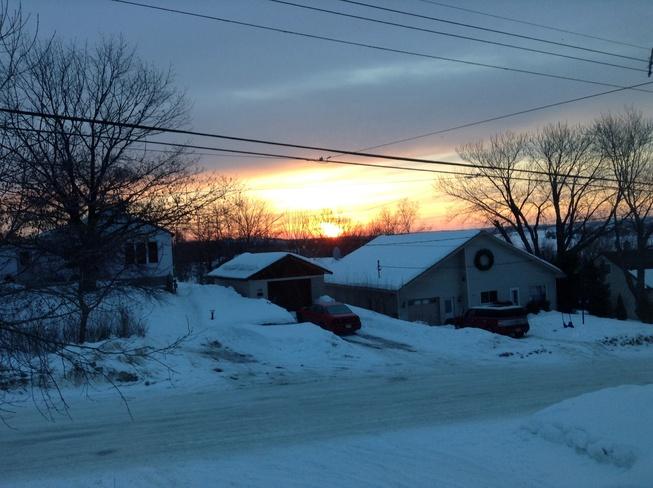 Sunrise Sudbury, Ontario Canada
