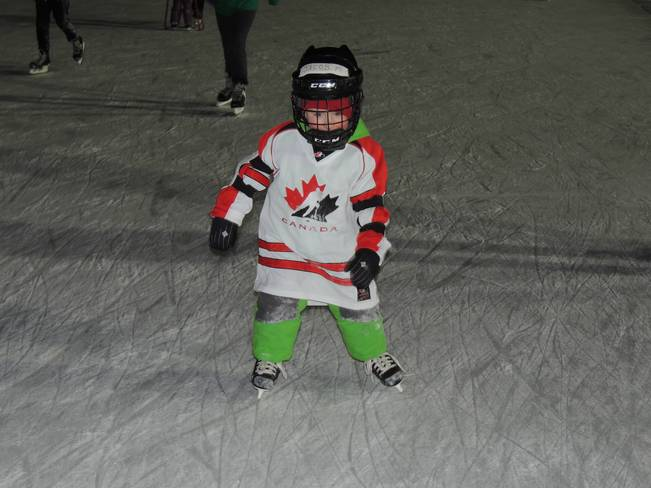Our Grandson Skating on the Halifax Oval Halifax, Nova Scotia Canada