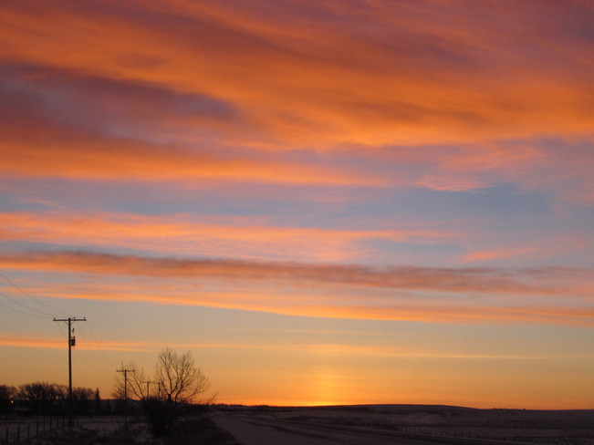Chinook Sunpillar Maple Creek, Saskatchewan Canada