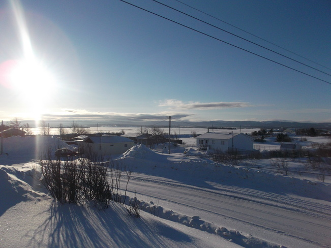 Beautiful Sunday Winter Morning Stephenville Crossing, Newfoundland and Labrador Canada
