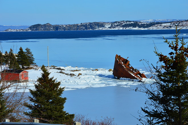 Frozen in time Conception Harbour, Newfoundland and Labrador Canada