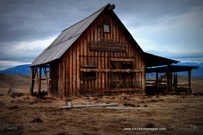 """Hike to the movie set of :Gunless"""" near Osoyoos. Osoyoos, British Columbia Canada"""