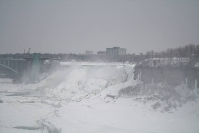 THE fALLS TODAY Niagara Falls, Ontario Canada