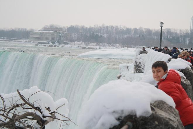 nice view Niagara Falls, Ontario Canada