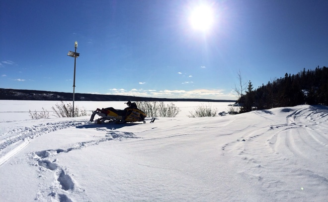 Amazing day on Ski Doo Gander, Newfoundland and Labrador Canada