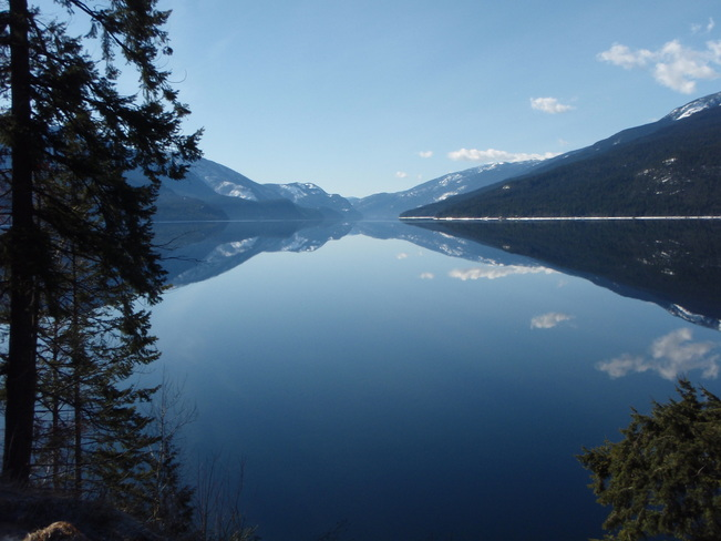 Beautiful Slocan Lake Slocan, British Columbia Canada