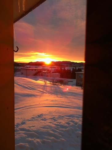 beautiful sunrise Stephenville, Newfoundland and Labrador Canada