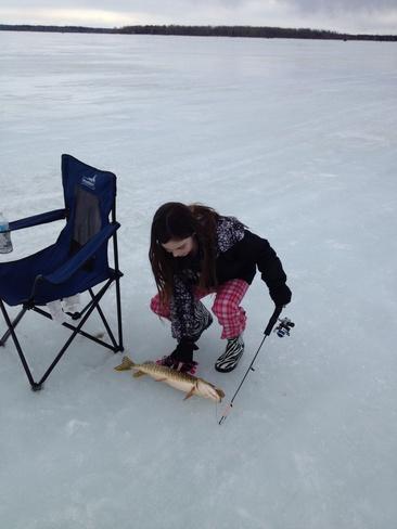 its a keeper Buck Lake, Alberta Canada