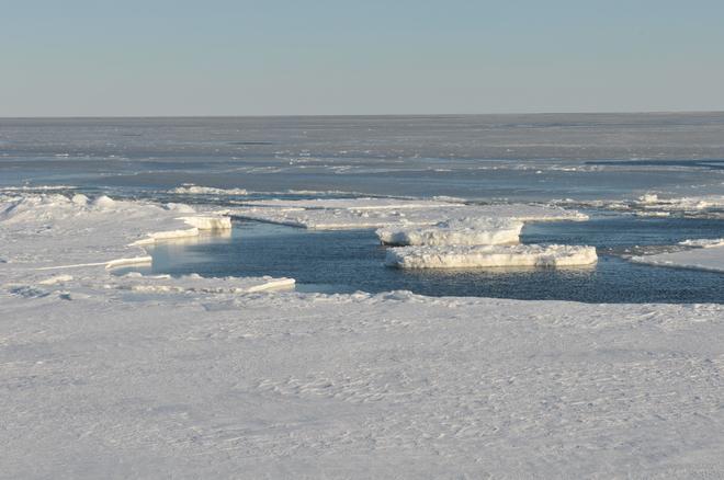 A beautiful cold morning in the Maritimes. Cap-Pele, New Brunswick Canada