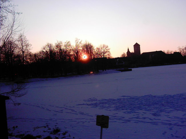 Sunset in my hometown ... Szczytno, Warminsko-Mazurskie Poland