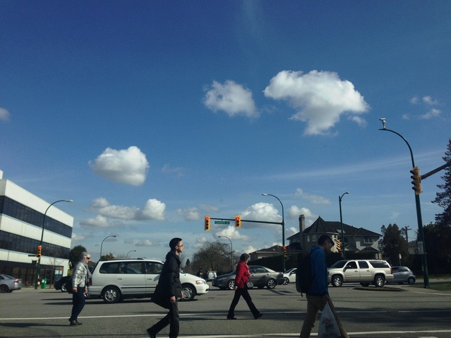 Just another busy day Vancouver, British Columbia Canada