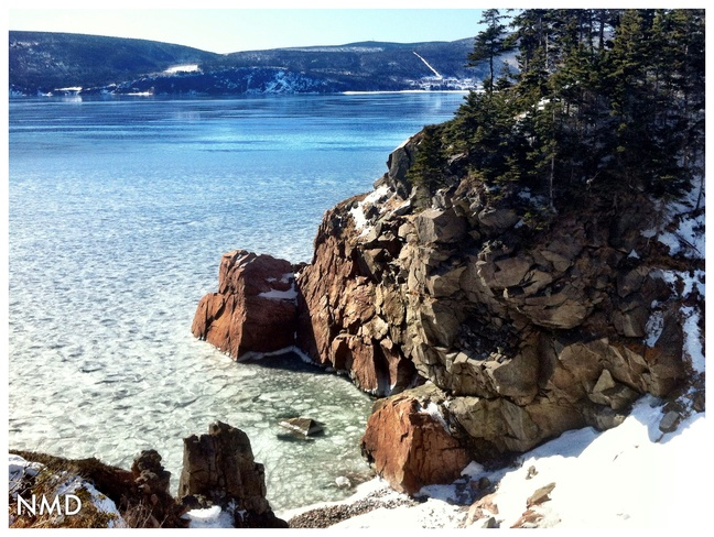 view from Keltic Ingonish, Nova Scotia Canada
