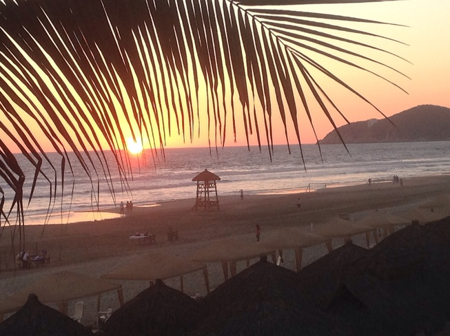 Another beautiful sunset....... Acapulco, Guerrero Mexico