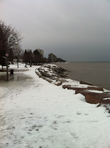 I know beautiful but weather network do something about it Oh )))) Burlington, Ontario Canada