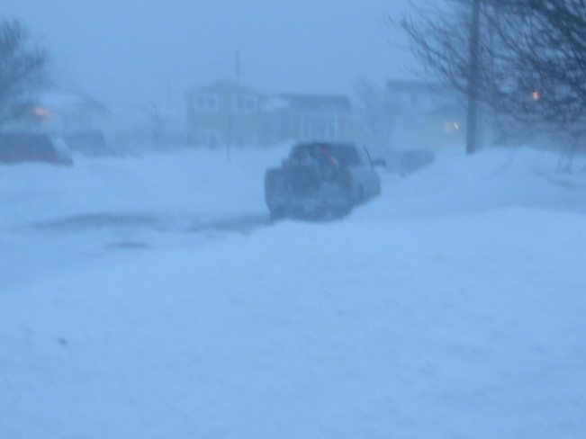 Another storm begins Mount Pearl, Newfoundland and Labrador Canada