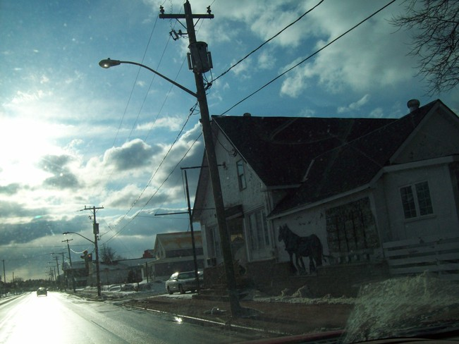 HWY 17 PIC * MASSEY ON* Massey, Ontario Canada