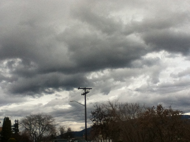 storm clouds rolling this way South Vernon, British Columbia Canada